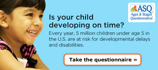 Is your child developing on time? Take the questionnaire